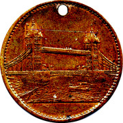 Token - London (St. Pauls Cathedral) – reverse