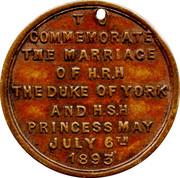 Duke of York Commemorative – reverse