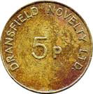 5 Pence - Dransfield Novelty Ltd. – reverse