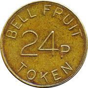 24 Pence - Bell Fruit Token – obverse