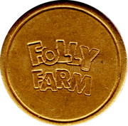 1 Token - Folly Farm (Pembrokeshire) – obverse
