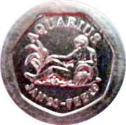 10 Pence - National Transport Token (Aquarius) – obverse