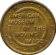 Token - American Museum of the Moving Image – obverse