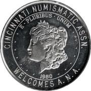 Cincinnati Numismatic Assn. – obverse