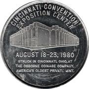 Cincinnati Numismatic Assn. – reverse