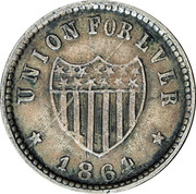 1 Cent (Union Forever) – reverse