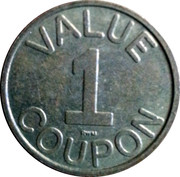 1 Value Coupon – obverse