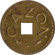 50 Centimes - Cazon – obverse