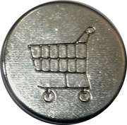 Shopping Cart Token (22 mm) – obverse