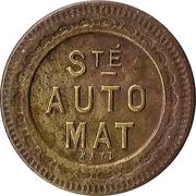 75 Centimes - Société Automat – obverse