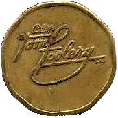 Token - Bally's Tom Foolery – obverse