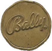 Token - Bally's Tom Foolery – reverse