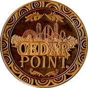 Token - Cedar Point – obverse