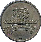 Token - Champions Sports Amusement Center – obverse