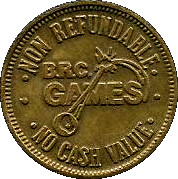 Token - Brunswick Recreation Center – reverse