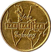 Token - Globe Gaming bar – obverse
