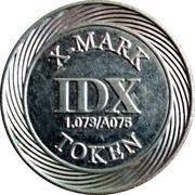 Token - IDX X-Mark (1.073/A075) – obverse