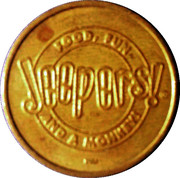 Token - Jeepers – obverse