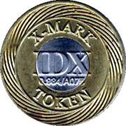 Token - IDX X-Mark (0.984/A075) – obverse
