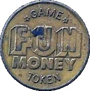 Token - King Louie Bowling Centers – reverse