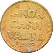 Token - No cash value (Spirograph) – reverse