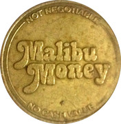 Token - Malibu Money – obverse