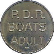 Token - P.D.R. Boats – obverse