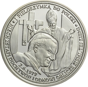 Token - Ioannes Paulus II (First pilgrimage to Poland) – obverse