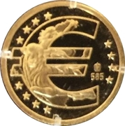 Token - 10 years of the Euro – reverse
