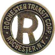 1 City Fare - Rochester Transit Corp. (Rochester, New York) – obverse