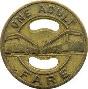 1 Adult Fare - Cincinnati Transit (Cincinnati, Ohio) – reverse