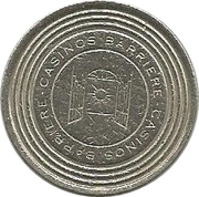 20 Cents - Casino Barriere (Dinar) – obverse