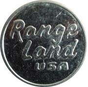 Golf Token - Range Land USA  (Large) – obverse