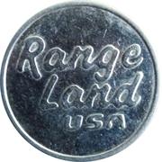 Golf Token - Range Land USA  (Large) – reverse