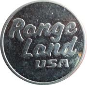 Golf Token - Range Land USA (Small) – reverse