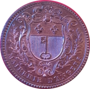 Anjou - Noblesse François-Charles Pays du Vau, maire d'Angers – reverse