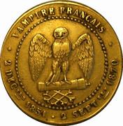 Pièce satirique Sedan Napoléon III – reverse