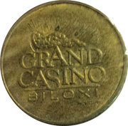 Token - Grand Casino (Biloxi) – obverse