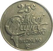 25 Cents - Isle of Capri Casino (Biloxi) – obverse