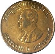 Token - Franklin D. Roosevelt (A New Deal) – obverse