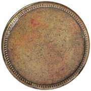 Token - West Indian Coal Company (St. Thomas) – reverse