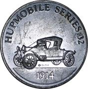Sunoco Antique Car Coin - Series 2 (Hupmobile) – obverse