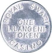 1 Lilangeni - Royal Swazi Casino – obverse