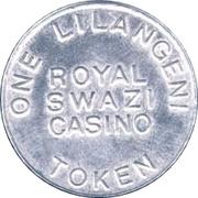 1 Lilangeni - Royal Swazi Casino – reverse