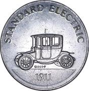 Sunoco Antique Car Coin - Series 2 (Standard Electric) – obverse
