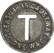 Token - Treasure Island Causeway (Florida) – obverse