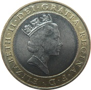 2 Pounds - Royal Mint Trial – obverse