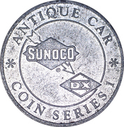 Token - Sunoco Antique Car Coin Series 1 (Mercer Raceabout) – reverse