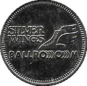 Game Token - Silver Wings ballroom – obverse