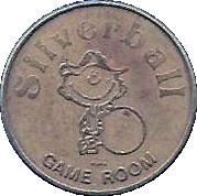 Token - Silverball Game Room – obverse